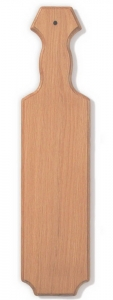 "21"" Straight Edge Oak Paddle"
