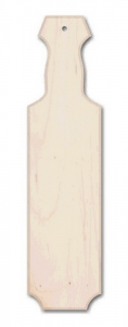 "22"" Wide Straight Edge Maple Natural Paddle"