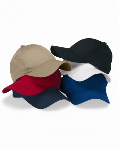 Cotton Twill Cap with Velcro Closure