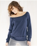 Ladies Off the Shoulder Sweatshirt
