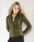Ladies Spandex Cadet Jacket