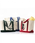 Jumbo Canvas Beach Tote